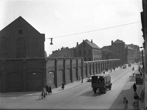 Gerichtsgefängnis, ca.1947. Archiv der Region Hannover, Nachlass Koberg, Nr. 102 (90/2056/10)